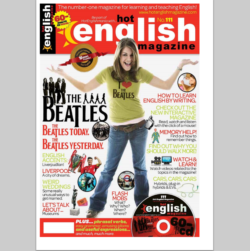Hot English Magazine